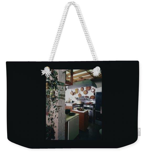 A Kitchen Weekender Tote Bag