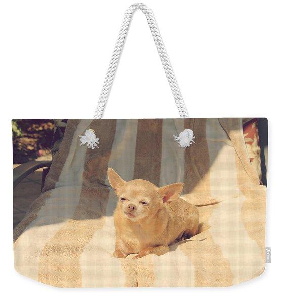 A Life Of Leisure Weekender Tote Bag
