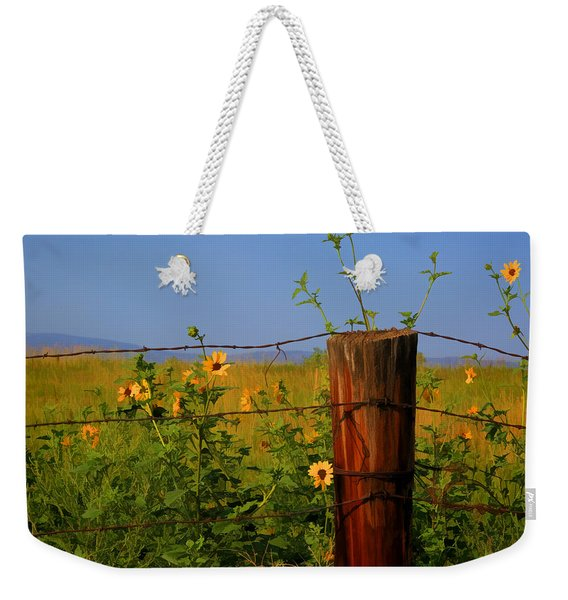 A Little Bit Of Yellow Weekender Tote Bag