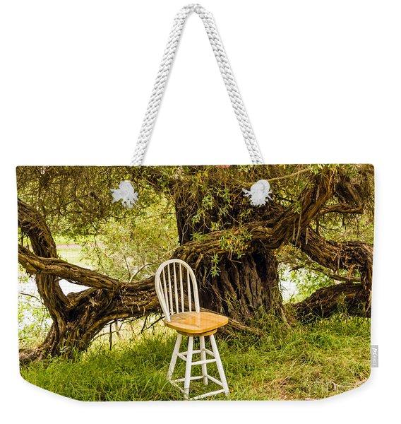 A Little Solitude Weekender Tote Bag