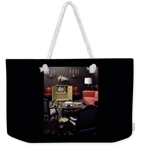 A Living Room Weekender Tote Bag