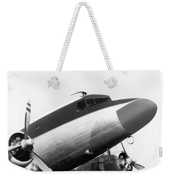 A Long Nose Dc-3 Aircraft Weekender Tote Bag