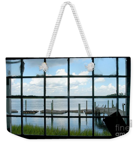 A Look Outside Weekender Tote Bag