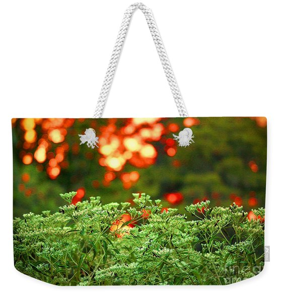 A Love Bug Sunset Weekender Tote Bag