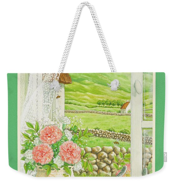 A Lucky View Weekender Tote Bag