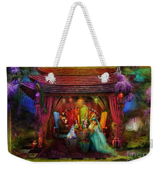 A Mad Tea Party Weekender Tote Bag