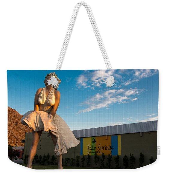 A Marilyn Morning Weekender Tote Bag