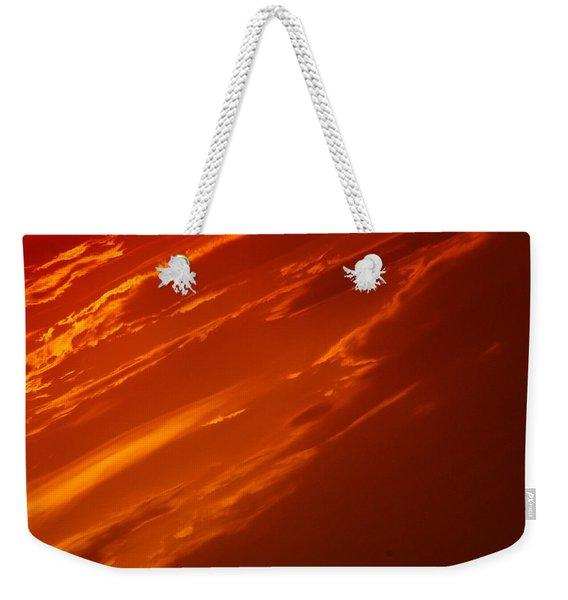 A Martian Sunset Weekender Tote Bag