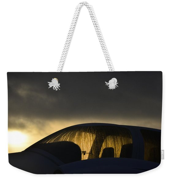 A Misty Moisty Morning Weekender Tote Bag