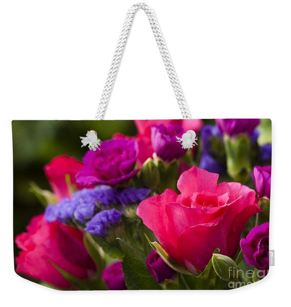 A Mixed Bouquet Weekender Tote Bag