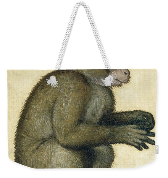 A Monkey Weekender Tote Bag