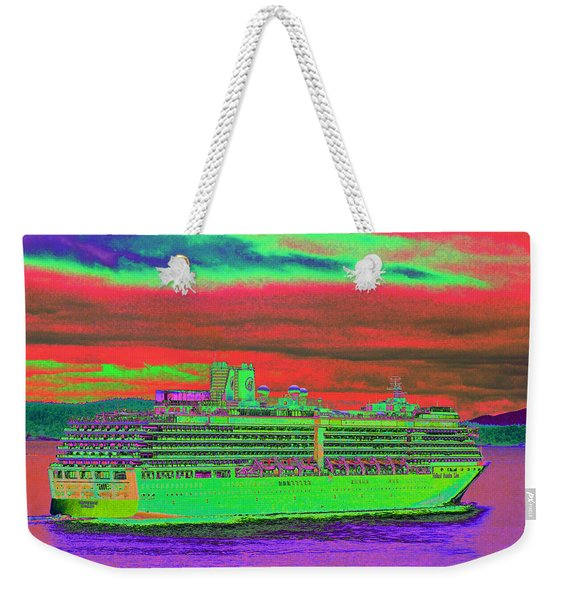 A More Colorful Hal Weekender Tote Bag