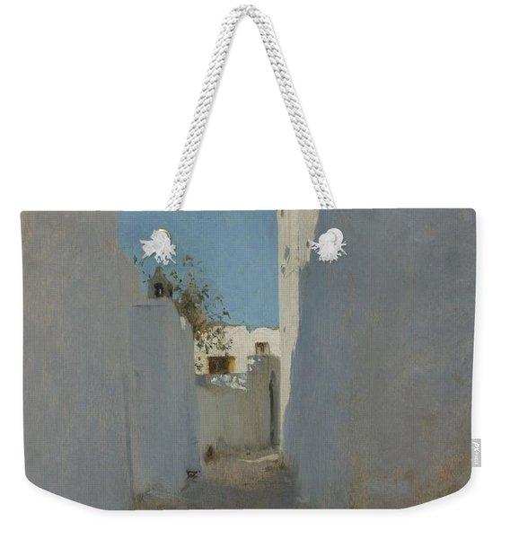 A Moroccan Street Scene, 1879-1880 Weekender Tote Bag