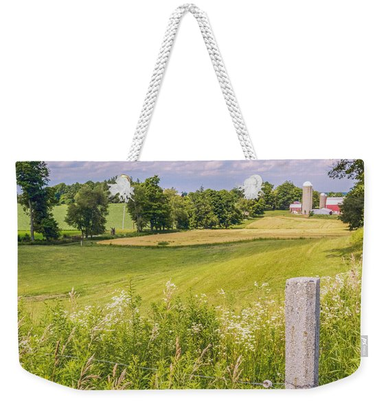 Weekender Tote Bag featuring the photograph A Nation's Bread Basket  by Garvin Hunter