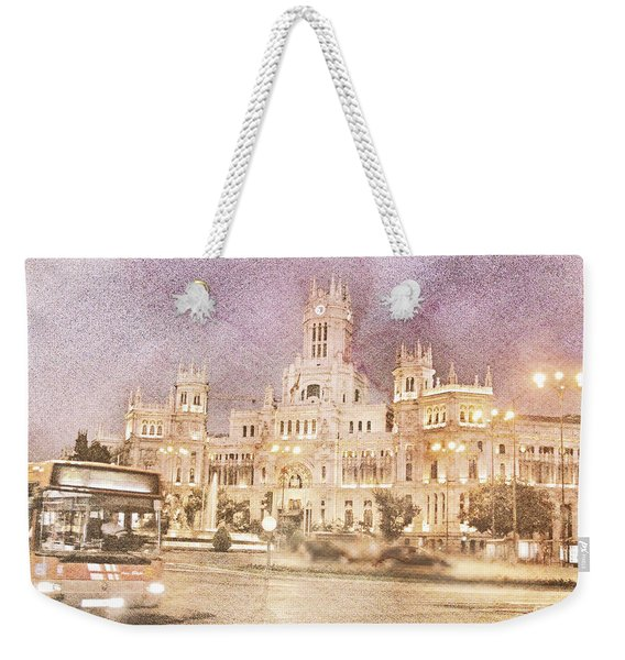 A Night In Madrid  Weekender Tote Bag