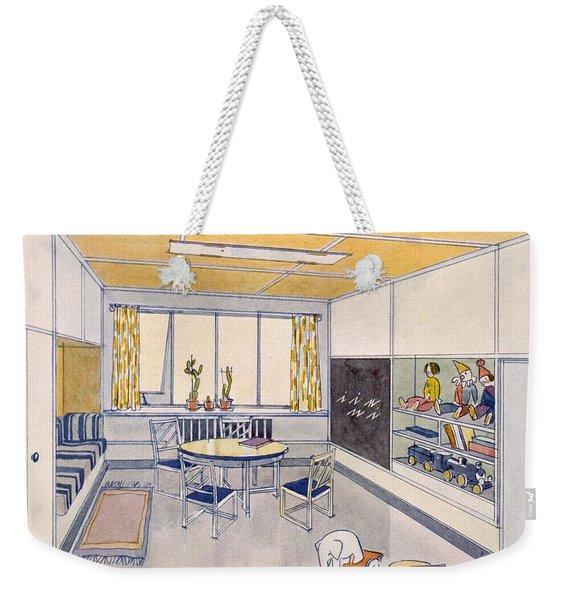 A Nursery, 1929 Weekender Tote Bag