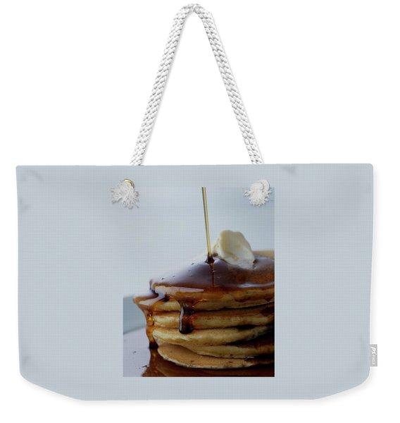 A Pancake Stack Weekender Tote Bag
