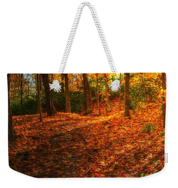 A Path Of Gold 2 Weekender Tote Bag