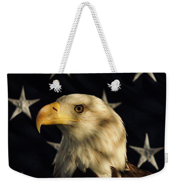 A Patriot Weekender Tote Bag