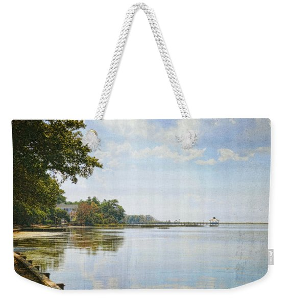 A Perfect Currituck Day Weekender Tote Bag