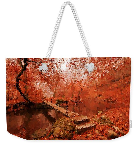 A Perfect Stroll In The Park Weekender Tote Bag