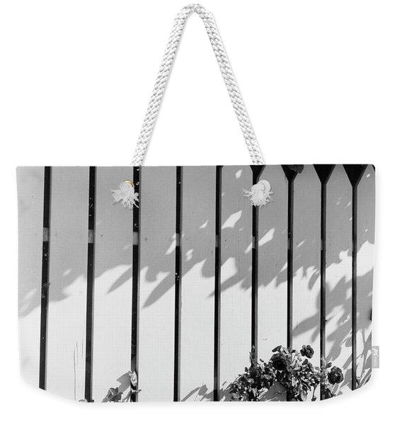 A Picket Fence Weekender Tote Bag