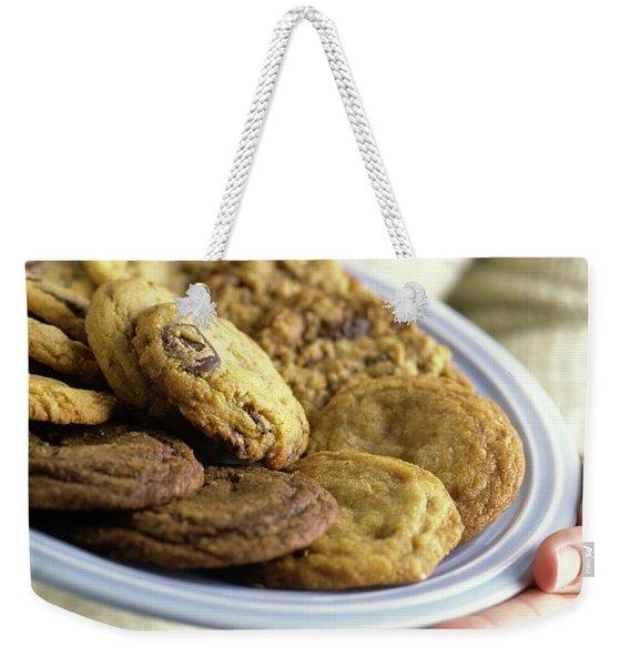 A Plate Of Cookies Weekender Tote Bag