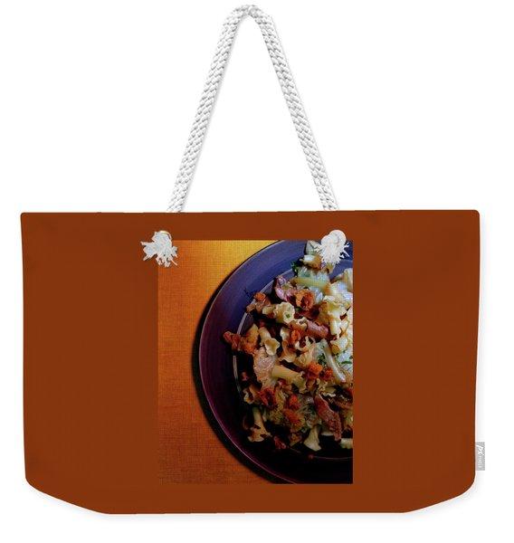 A Plate Of Pasta Weekender Tote Bag