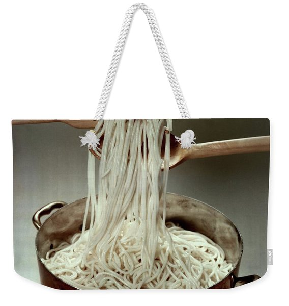 A Pot Of Spaghetti Weekender Tote Bag