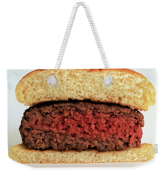 A Rare Hamburger Weekender Tote Bag
