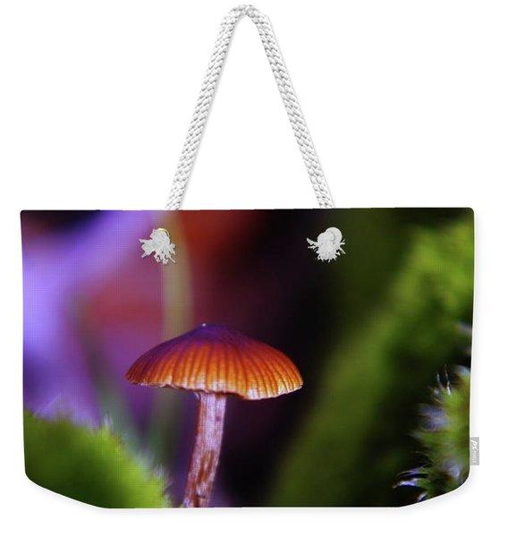A Red Mushroom  Weekender Tote Bag