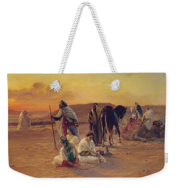 A Rest In The Desert Weekender Tote Bag