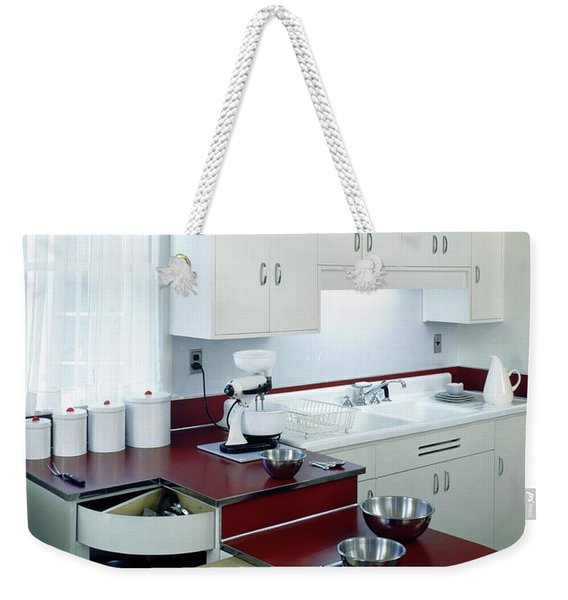 A Retro Kitchen Weekender Tote Bag