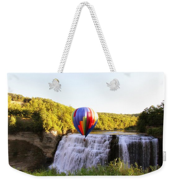 A Ride Over The Falls Weekender Tote Bag