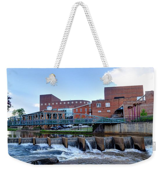 A River Runs Through It 2 Weekender Tote Bag