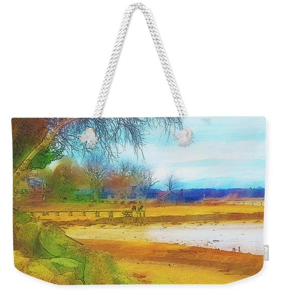 A Rocky Beach Weekender Tote Bag