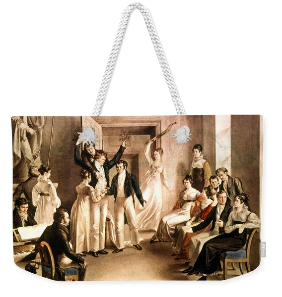 A Schubertian Party Weekender Tote Bag