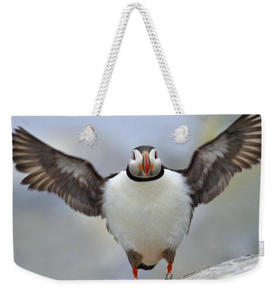 A Seaside Breeze Weekender Tote Bag