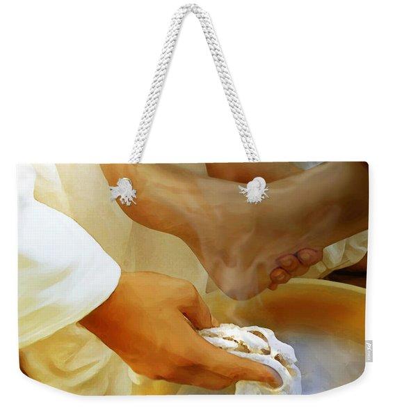 A Servants Heart Weekender Tote Bag