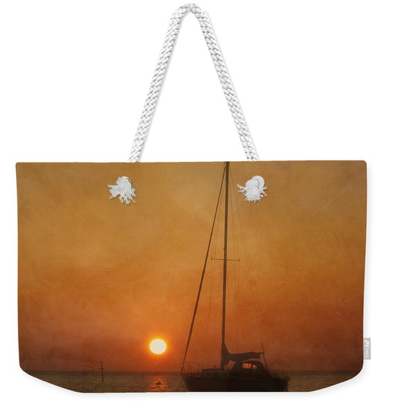 A Ship In The Night Weekender Tote Bag