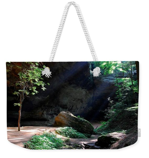 A Special Light Weekender Tote Bag