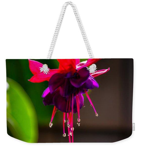 A Special Red Flower  Weekender Tote Bag