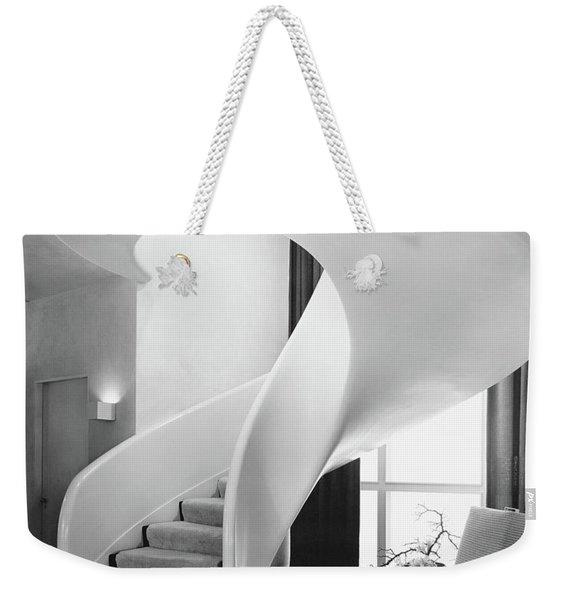A Spiral Staircase Weekender Tote Bag
