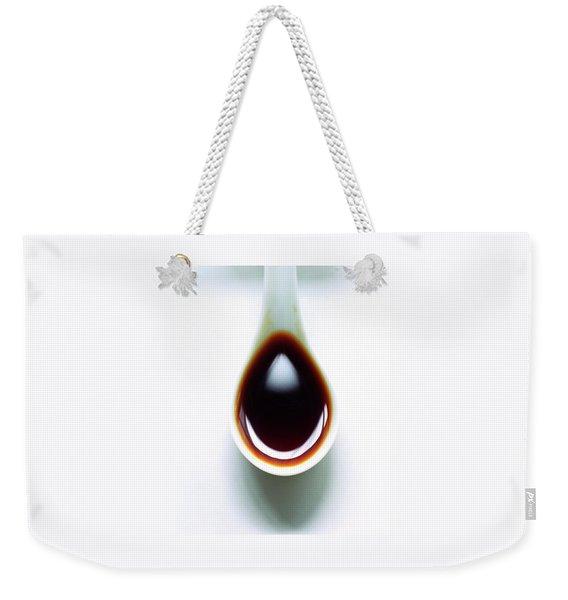 A Spoon Of Tamari Sauce Weekender Tote Bag