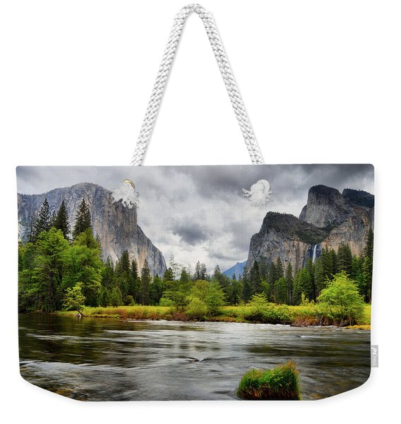 A Storm Draws Near  Weekender Tote Bag
