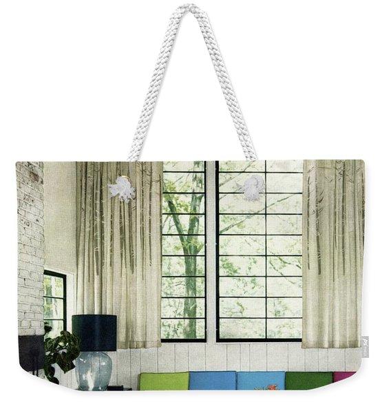 A Studio Guest Room Weekender Tote Bag