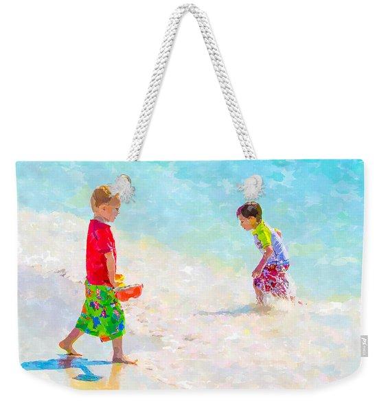 A Summer To Remember V Weekender Tote Bag