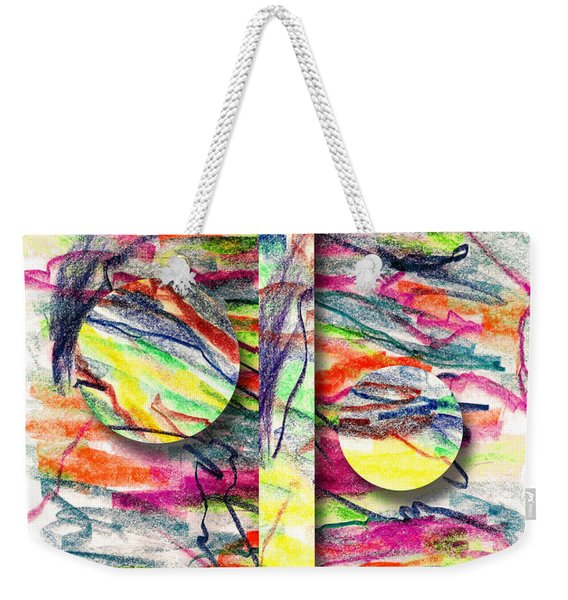 A Summers Day Breeze Weekender Tote Bag