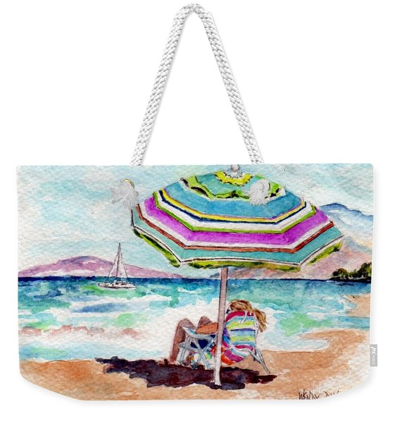 A Sweet Day In Maui Weekender Tote Bag