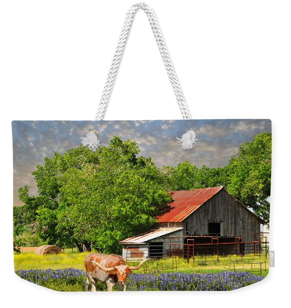 A Taste Of Texas Weekender Tote Bag